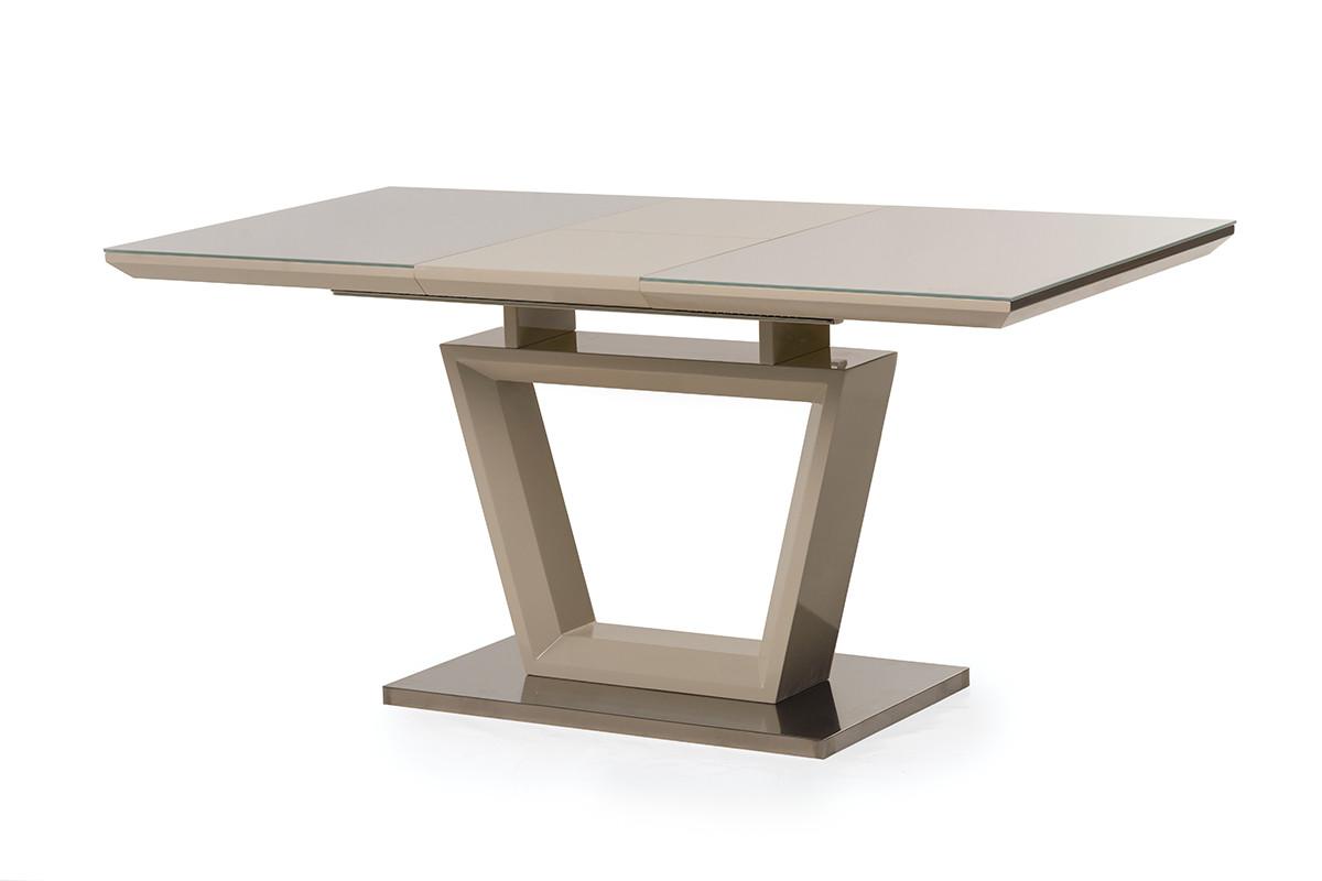 Стол TM-51-1, капучино. (120-160) -80 см. H-76см.