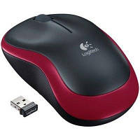 Мышка Logitech M185 Wireless Mouse (Red) (910-002240)