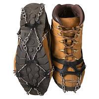 Ледоступы для обуви (шипы, накладки)(резина, металл, р-р универсальный 40-44)
