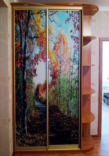 Фотополимерный рисунок «Осень»