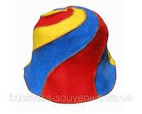 Оригинальные шапки для сауны из яркого фетра - подарок женщинам на 8 Марта
