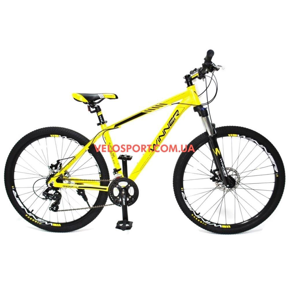 """Горный велосипед Winner Impulse 27.5 дюймов 17"""" желтый"""