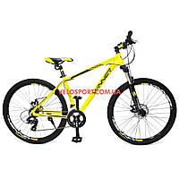 """Горный велосипед Winner Impulse 27.5 дюймов 19"""" желтый"""