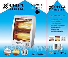 Инфракрасный кварцевый обогреватель  OPERA DIGITAL DT-1602