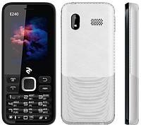Мобильный телефон 2E E240 DS   2 сим,2,4 дюйма,0,3 Мп,1800 мА\ч.