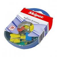 Кнопки-прапорці 36 шт. кольорові Skiper SK-4809
