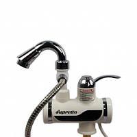 Проточный кран-водонагреватель с насадкой для душа