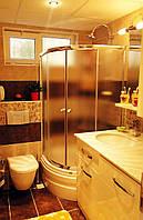 Раздвижная шторка на ванну 1500х800х800