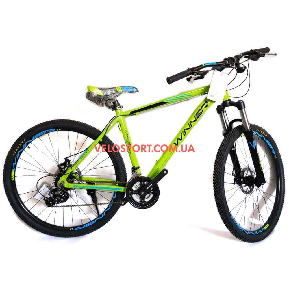 """Горный велосипед Winner Impulse 27.5 дюймов 17"""" зеленый"""
