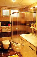 Раздвижная шторка на ванну 1500х1100х1100