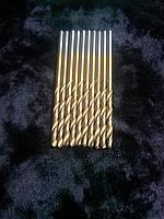 Сверло по металлу (с титановым напылением) диаметр 1,9 мм.