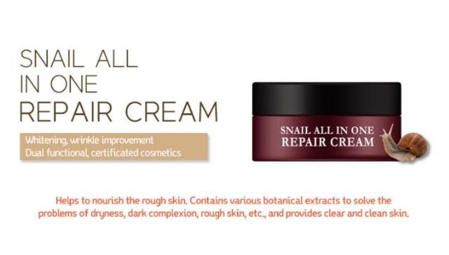 EYENLIP Snail All In One Repair Cream 15 ml