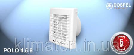 Вентилятор вытяжной Dospel POLO 5 120 WCH, фото 2
