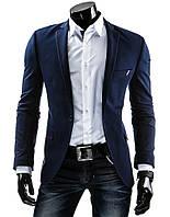 Пиджак мужской,мужской пидажк синего цвета,жакет мужской