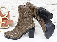 Стильные ботинки. Качественные ботинки. Ботинки осень. Ботинки кожаные.  Женские 8853d7c019a25