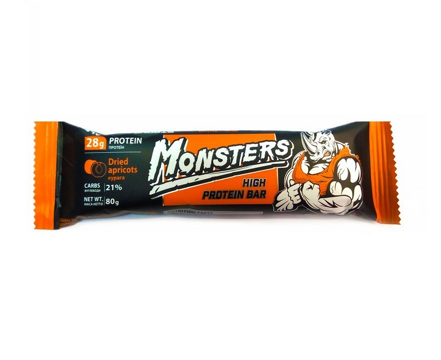 Протеиновый батончик Monsters - High Protein Bar (80 грамм)