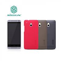 Чехол для HTC One Mini M4 - Nillkin Super Frosted Shield (пленка в комплекте)