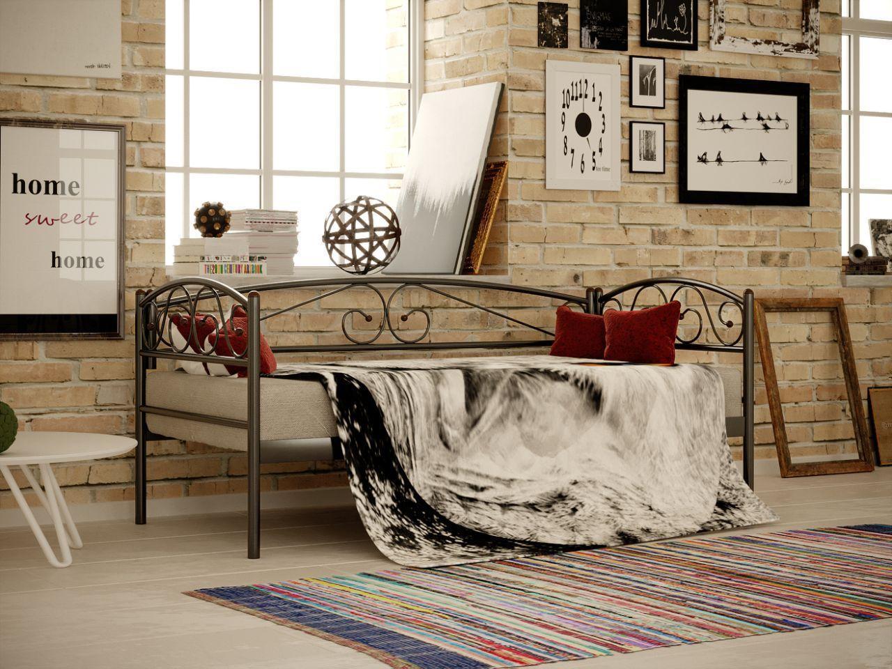 Кровать металлическая ВЕРОНА ЛЮКС (VERONA LUX) кровать-диван