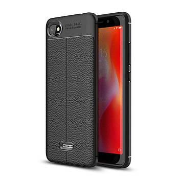 "Накладка Xiaomi Redmi 6a ""Skin Shield"" Чёрная"