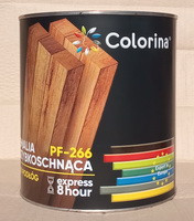 Эмаль для пола ПФ-266 ТМ Colorina быстросохнущая жёлто-коричневая