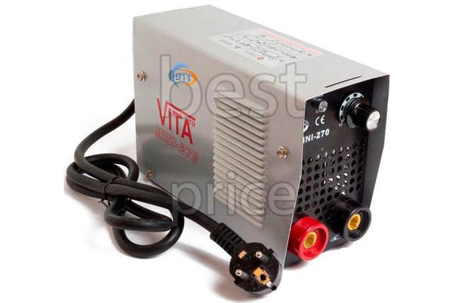 Сварочный аппарат инвертор Vita - 270 Mini кейс, фото 2