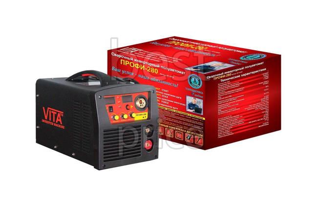 Сварочный аппарат полуавтомат Vita - профи-280А (2-в-1), фото 2