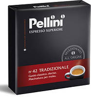 Кофе молотый из Италии Pellini Espresso Superiore n.42 Tradizionale Duo 500 г.