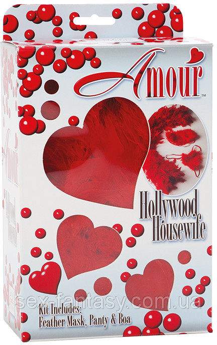 Набор для нее California Exotic - Amour Hollywood Housewife Kit (T850095)