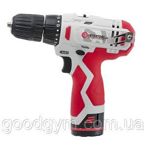 Шуруповерт аккумуляторный INTERTOOL DT-0310