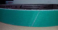 Шлифовальная лента по титану и высоколегированным сталям керамическая на Гриндер CS 910 Y ACT Klingspor, фото 1