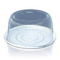 Пластикова упаковка для тортів і кондитерських виробів ПС-25