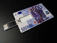 USB флешка на 16 GB в виде купюры 500 Евро
