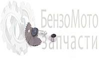 Полумесяц (сектор) заводной (+втулка) L 57 мм 4Т GY6-50/60/80сс