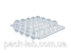 Упаковка для перепелиних яєць прозора