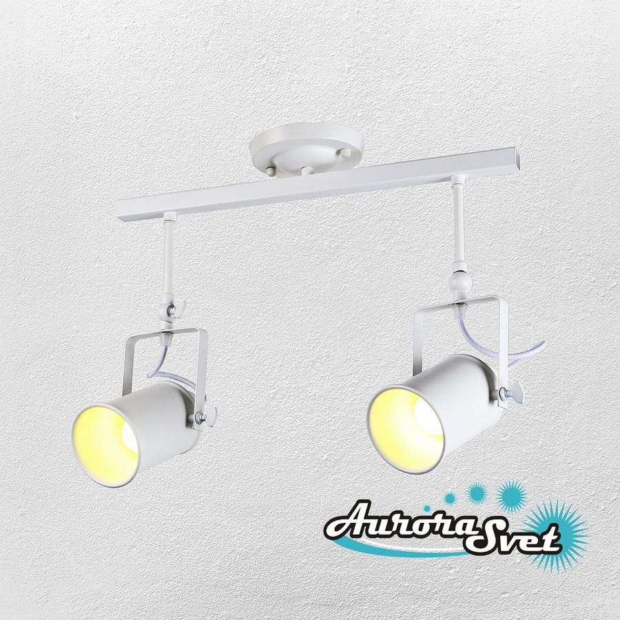 Светильник подвесной LOFT AS-160 белый. LED светильник. Светодиодный светильник.