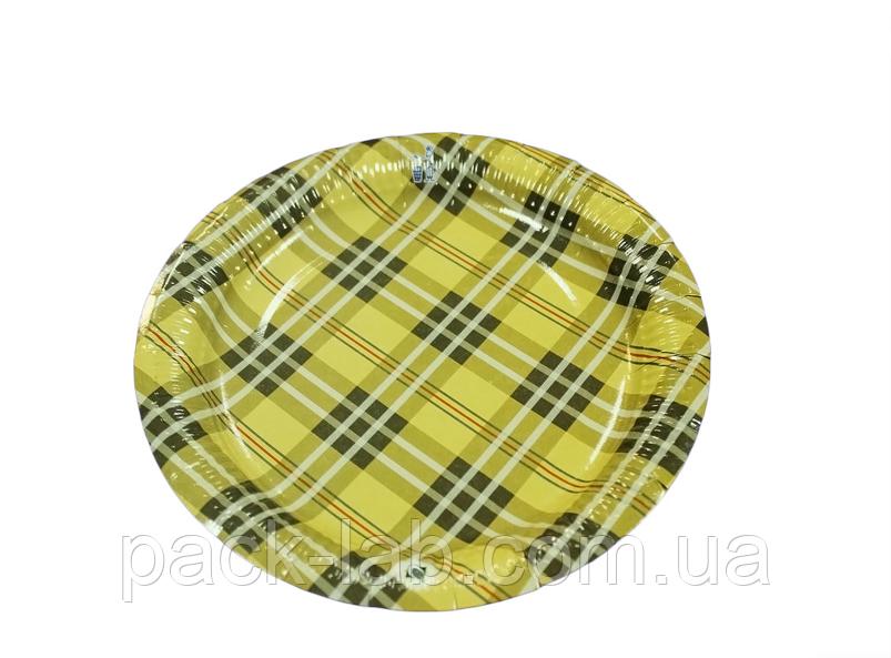 "Паперова тарілка ""Шотландка"""