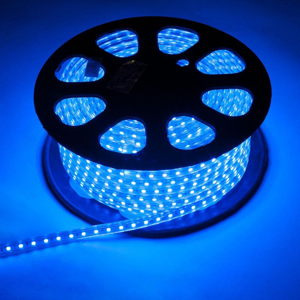 5050 LED Blue Синя 100m 220V