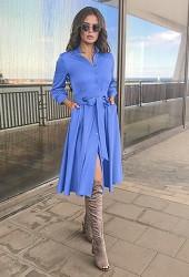 Платье голубое Viravi Wear, модель 1022