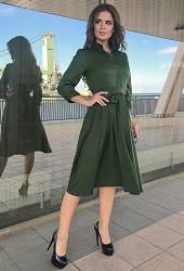 Платье хаки Viravi Wear, модель 1022