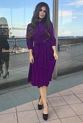 Платье фиолетовое Viravi Wear, модель 1022