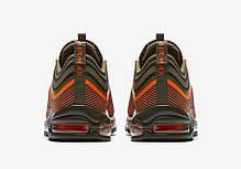 """Кроссовки Nike Air Max 97 Ultra 17 """"Olive/Orange"""" (Оливковые/Оранжевые), фото 3"""
