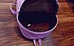Рюкзак женский городской кожзам Melorin Розовый, фото 9