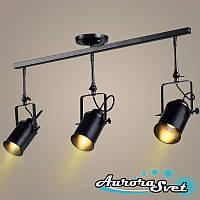 Светильник подвесной LOFT AS-170 чёрный. LED светильник. Светодиодный светильник., фото 1