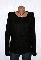 Стильная Черная Шерстяная Кофта от H&M Размер: 48-L