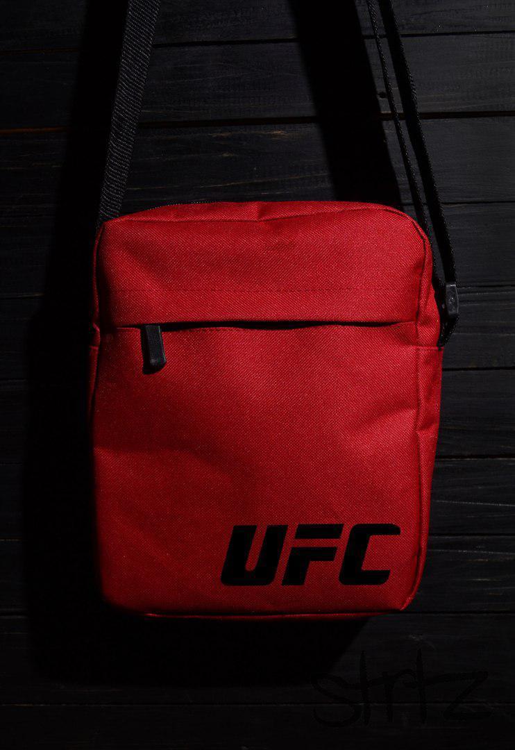 e7b7a962d8b8 Сумка для реального пацана на плечо юфси/UFC красная реплика -