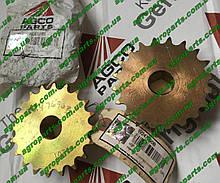 "Звёздочка W247690B z20 Massey Ferguson 3/4"" hex bore Sprocket W247690B AGCO 20 Tooth"