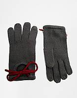 Серые перчатки Asos