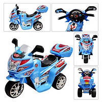 Мотоцикл «Bambi» M 0637 (Голубой)