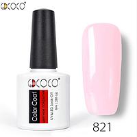 Гель-лак GDCOCO 8 мл, №821 (нежный розовый)
