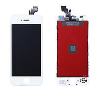 Дисплей (модуль) Apple iPhone 5 белый Оригинал